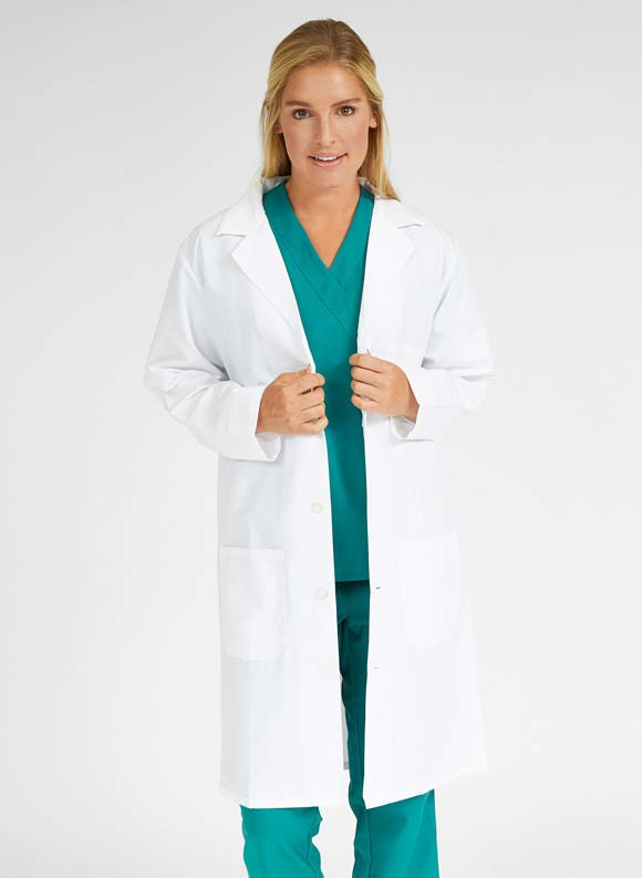 Traditional Full Length Lab Coat