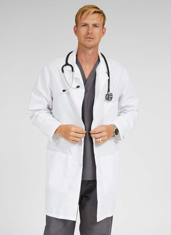 Staff Length Lab Coat