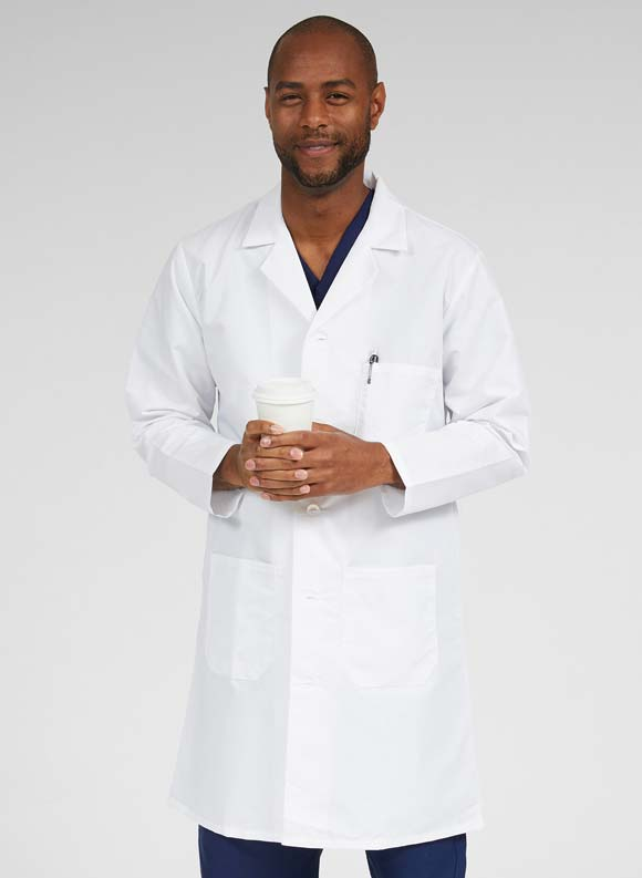 Full Length Lab Coat-Medline