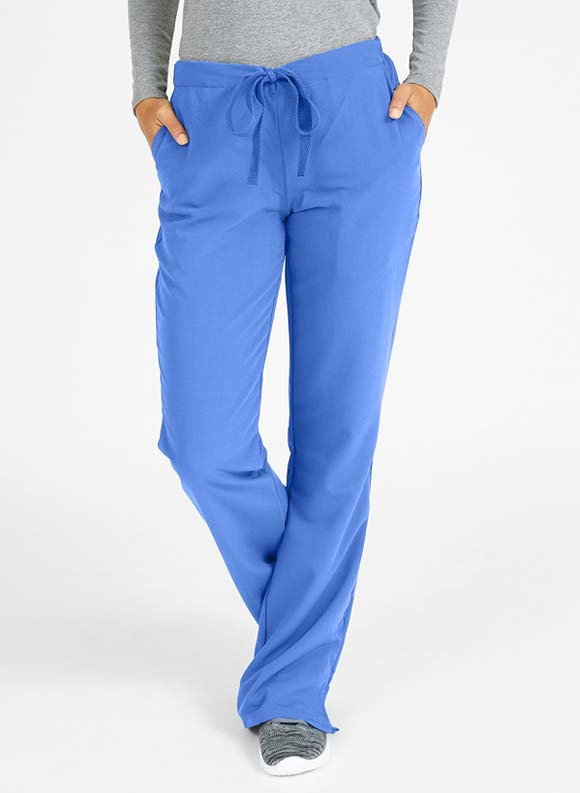Drawstring Boot Cut Pant-Medline
