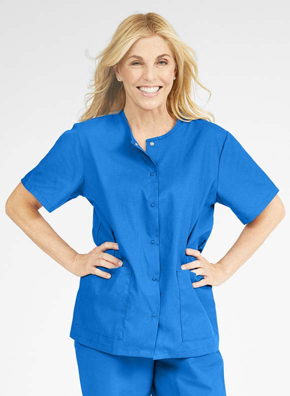 Snap Front Tunic-Medline