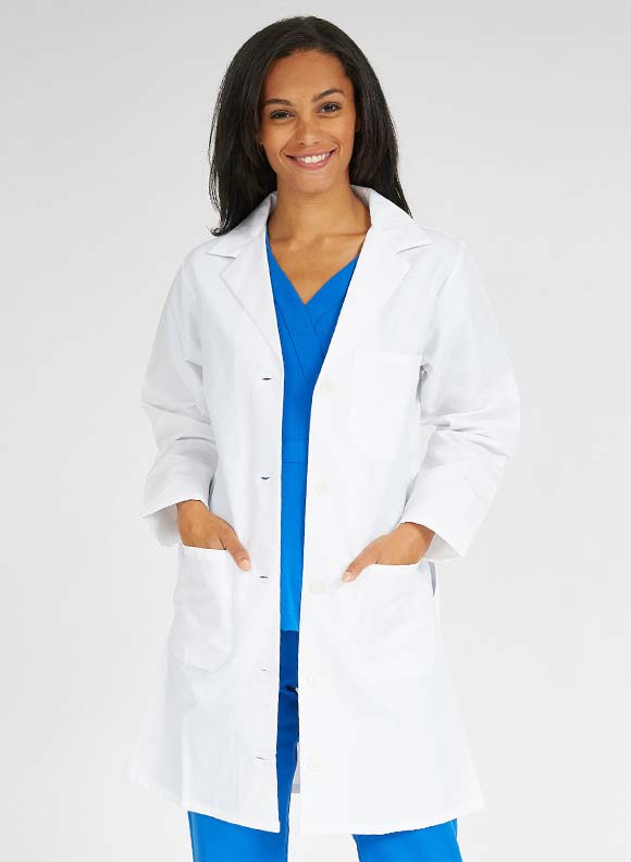 Classic Staff Length Lab Coat-