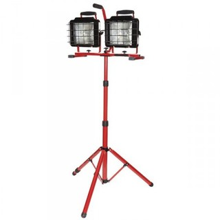 1500w Convertible Halogen Dual Fixture Work Light