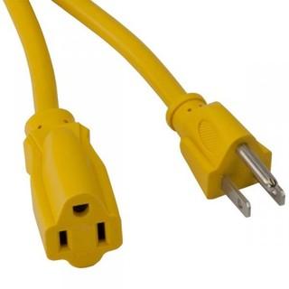 25' OSHA NRTL Compliant Extension Cord w/Single Outlet - 13amp-Bayco