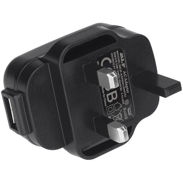 USB to AC Adapter - United Kingdom-