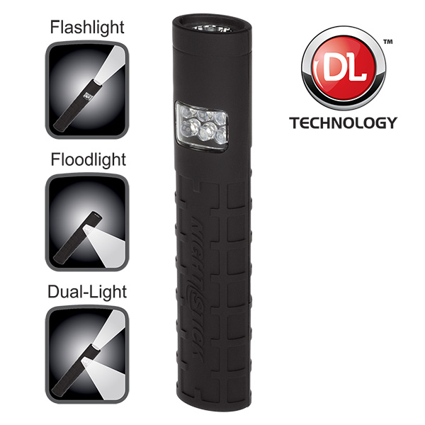Dual-Switch Dual-Light™ Flashlight - Non-Rechargeable-
