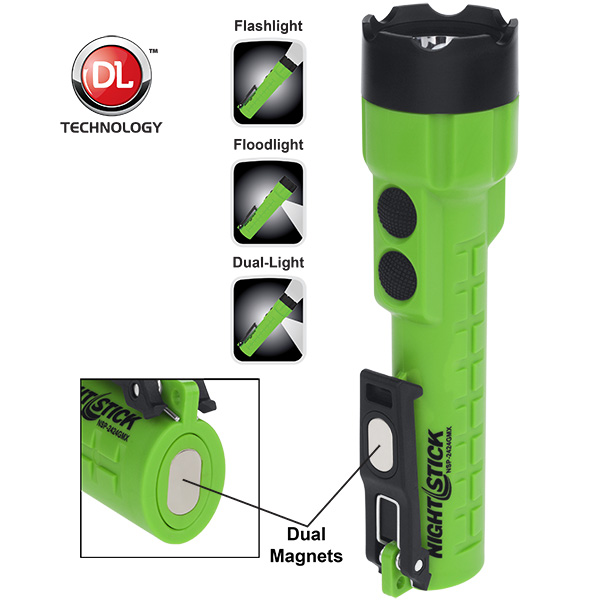 X-Series Dual-Light™ Flashlight w/Dual Magnets - 3 AA-