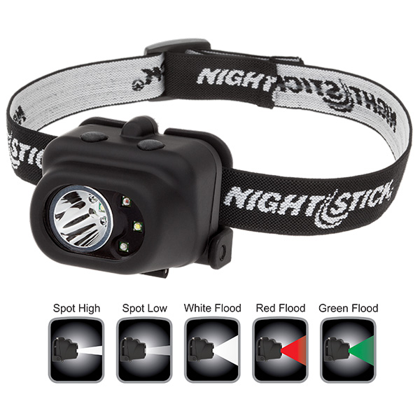 Multi-Function Headlamp - 3 AAA-