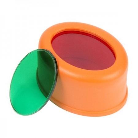 Red/Green Slip-on Filter Set - 1200 & 1400 Series-