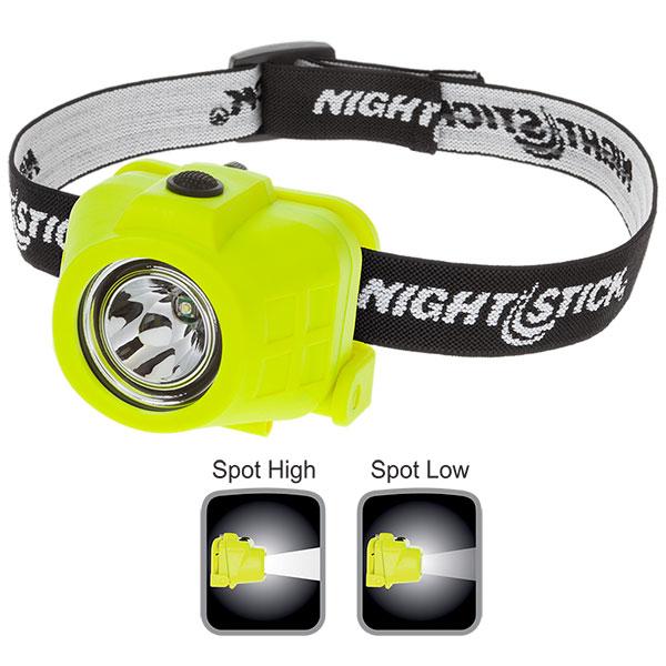 Intrinsically Safe Dual-Function Headlamp-