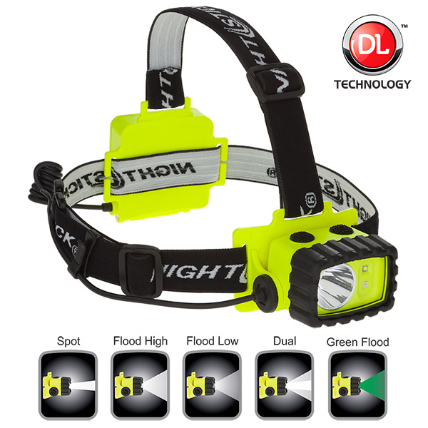 Intrinsically Safe Permissible Multi-Function Dual-Light™ Headlamp-