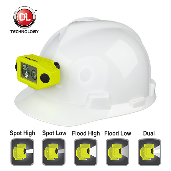 X-Series Intrinsically Safe Low-Profile Dual-Light™ Headlamp with Hard Hat Clip-