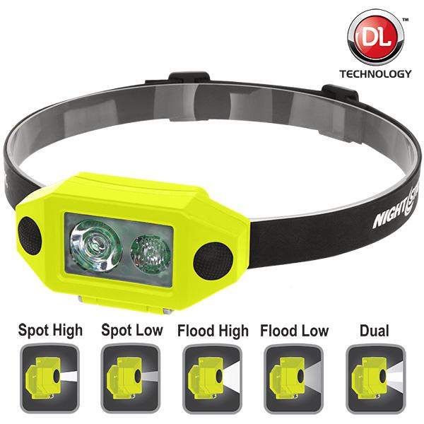 X-Series Intrinsically Safe Low-Profile Dual-Light™ Headlamp-