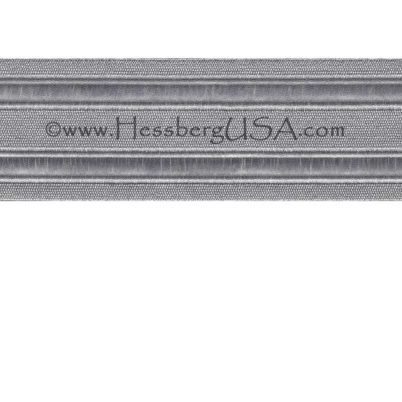 "Metallic Braid 2"" 2 Vellum-Hessberg USA"