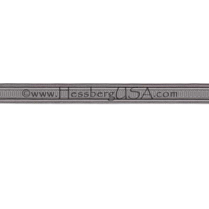 "Non-Metallic Braid 1/2"" Silver Grey-"