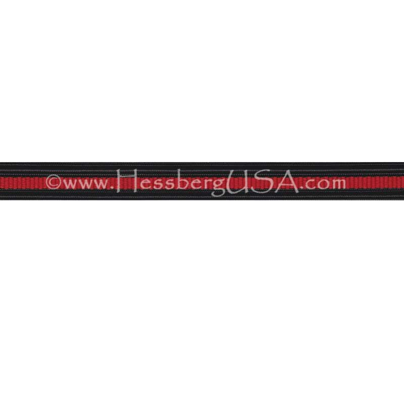 "Thin Red Line 1/2"" Non-Metallic Braid-Hessberg USA"