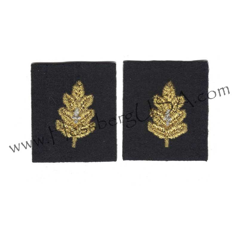 Closeout Vintage Embroidered Leaves-Hessberg USA