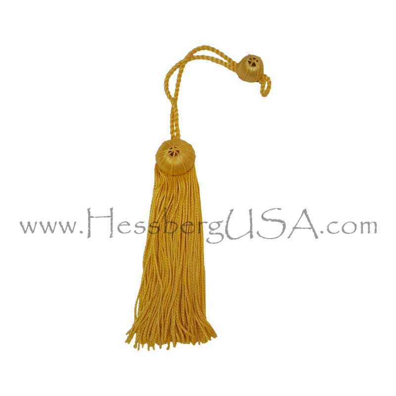 Closeout Doctoral Tam Tassel - Gold-