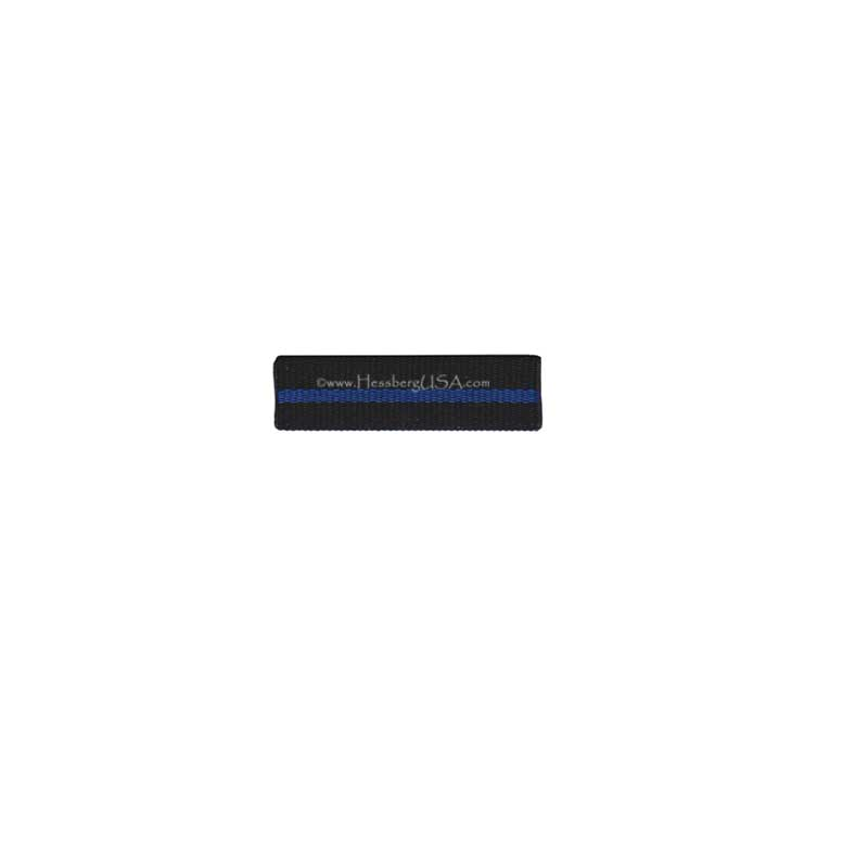Thin Blue Line Ribbon Front w/ Clutch 5 Pack-Hessberg USA
