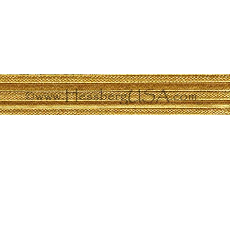 "Metallic Trouser Braid 1""-Hessberg USA"