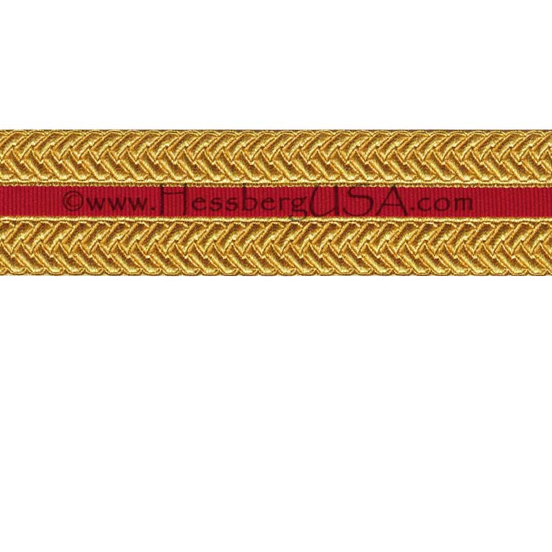 "Closeout 1 1/2"" USMC Braid-"