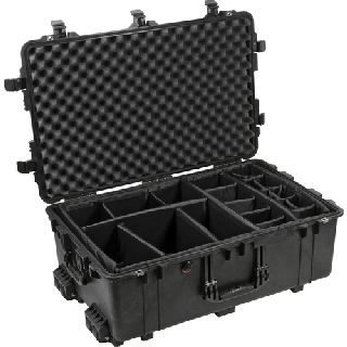 1650 Case with Padded Dividers
