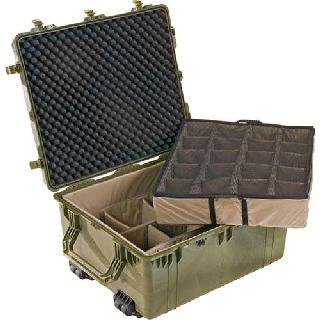 1690 Transport Case with Padded Dividers