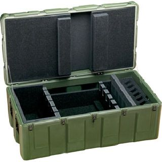 472-M4-9MM-6W-S Rifle Case-Pelican