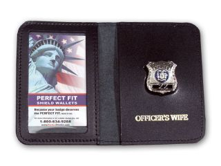 Mini Badge Case With Imprint-