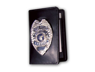 Book Style Double ID And Badge Case Outside Mount-Perfect Fit