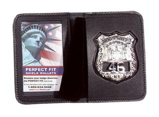 Duty Leather Badge And ID Case-