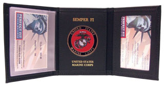 106_Trifold Wallet With Single ID-
