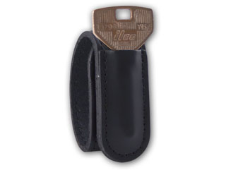 1 Inch Belt Keeper With Hidden Snap And Key Holder
