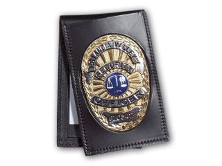"2 1/4"" x 3 5/8"" Recessed Double ID Badge Case Outside Mount-Perfect Fit"