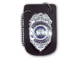 Universal Badge Holder With Chain-