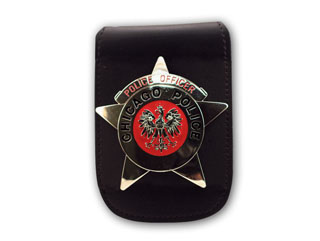 "3 3/4"" x 4 1/2"" Universal Badge And ID Holder With Chain-Perfect Fit"