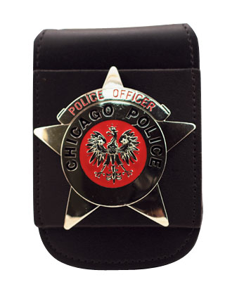 "2 3/4"" x 3 5/8"" Universal Badge And ID Neck Holder With Magnetic Closure-"