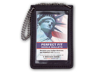 Double ID Holder For Neck With Chain-Perfect Fit