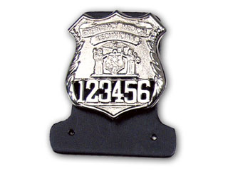 Badge And Nameplate Holder-