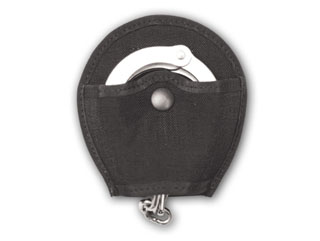 Nylon Open Top Cuff Case With Duty Clip And Black Snap-
