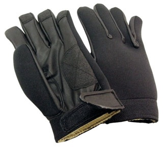 Neoprene Unlined Weather Duty Shooting Gloves-Perfect Fit