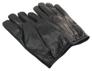 Leather Duty Gloves w/Hipora Barriers-