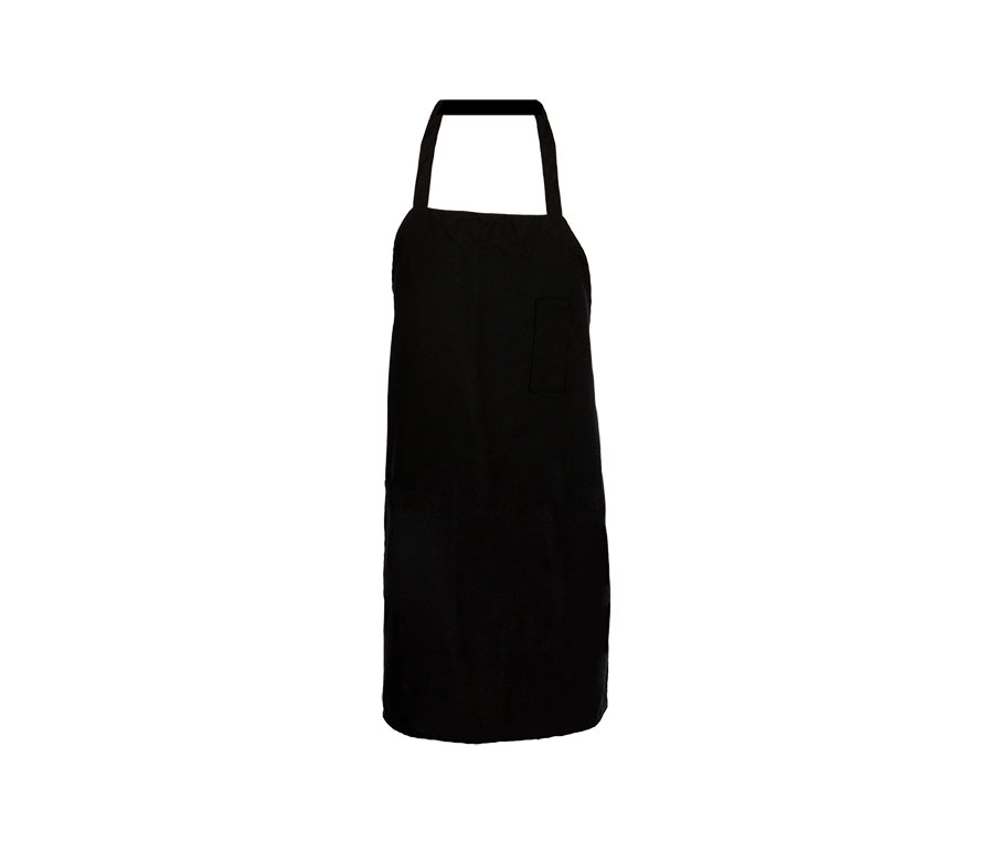 Bib Apron-pen pocket, 29x33, tubular ties-