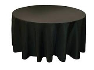 "Tablecloth, 120"" Round Infinity 6.4 oz Spun-INFINITY"