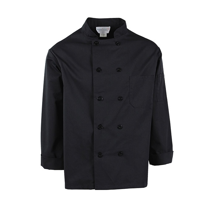 Plastic Button Chef Coat-