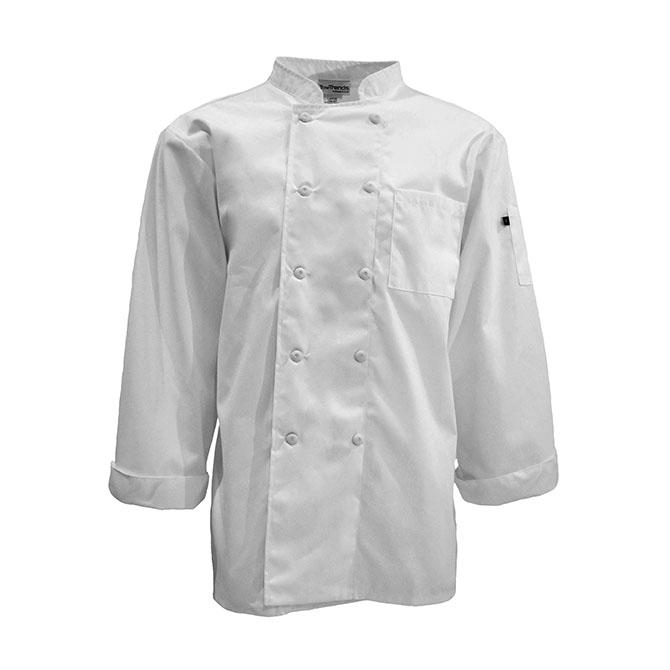 Keep Kool™ 1/2 Back Chef Coat, Full Sleeve-
