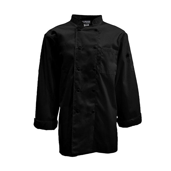 Keep Kool 1/2 Mesh Back Chef Coat, Full Sleeve-