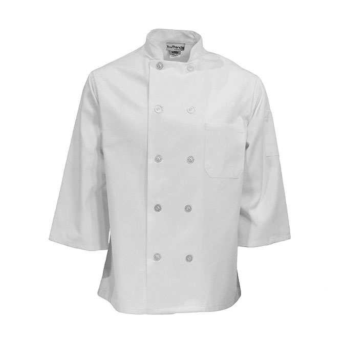 3/4 Sleeve Chef Coat-CHEF TREND