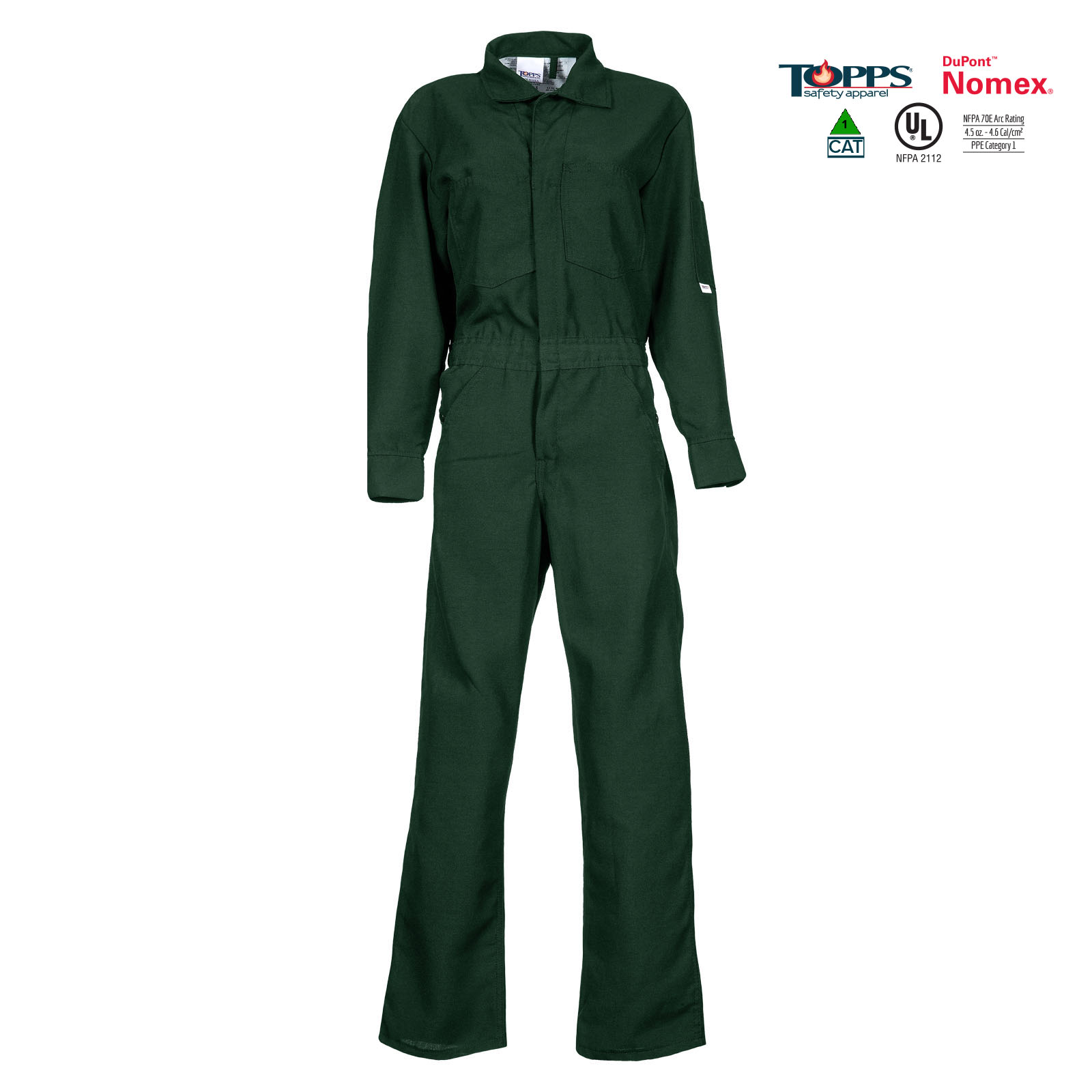 NOMEX® Flame Resistant Lightweight Coverall-TOPPS