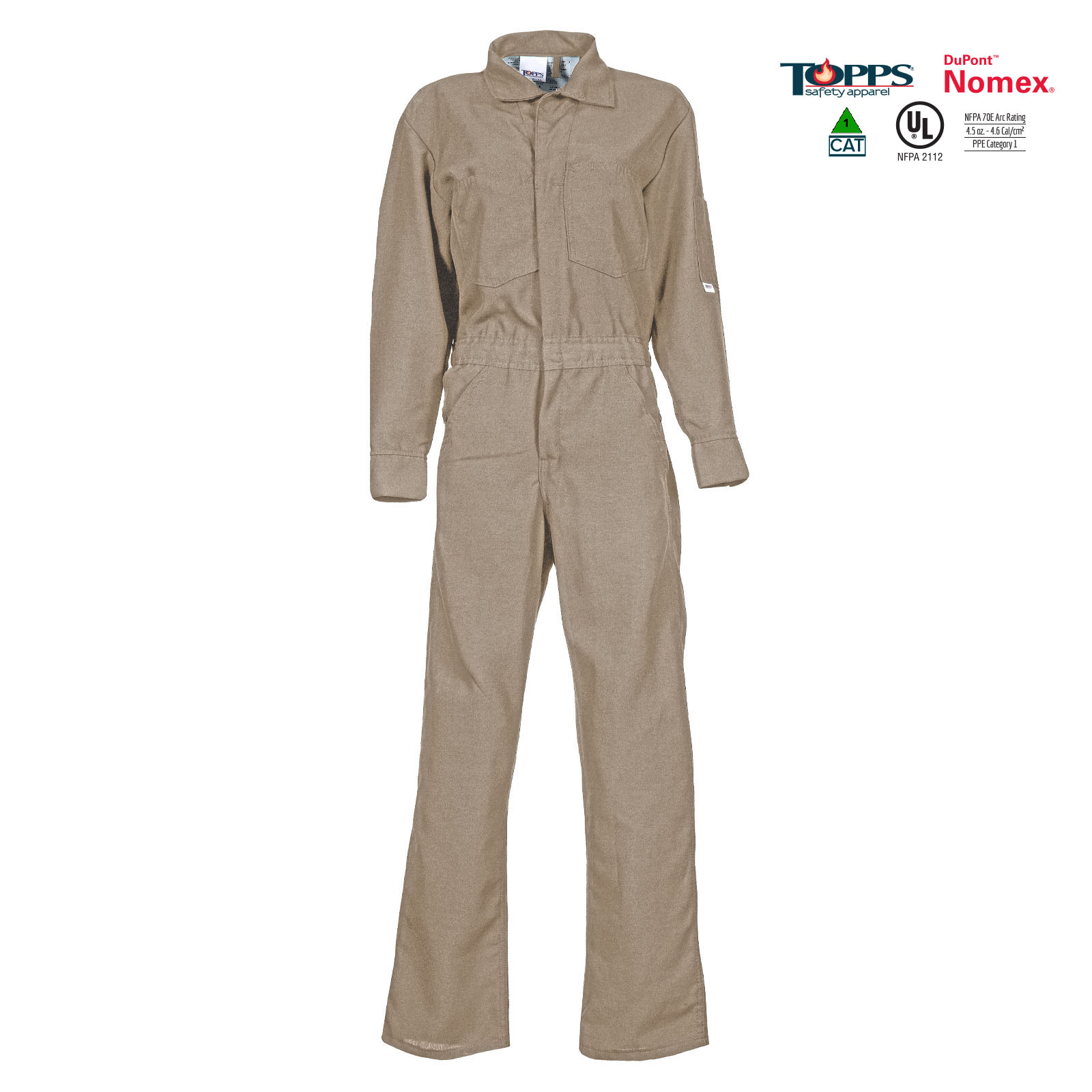 NOMEX® Flame Resistant Lightweight Coverall-